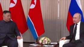 Lazos Putin-Kim. Represión en Baréin. Protesta en Londres