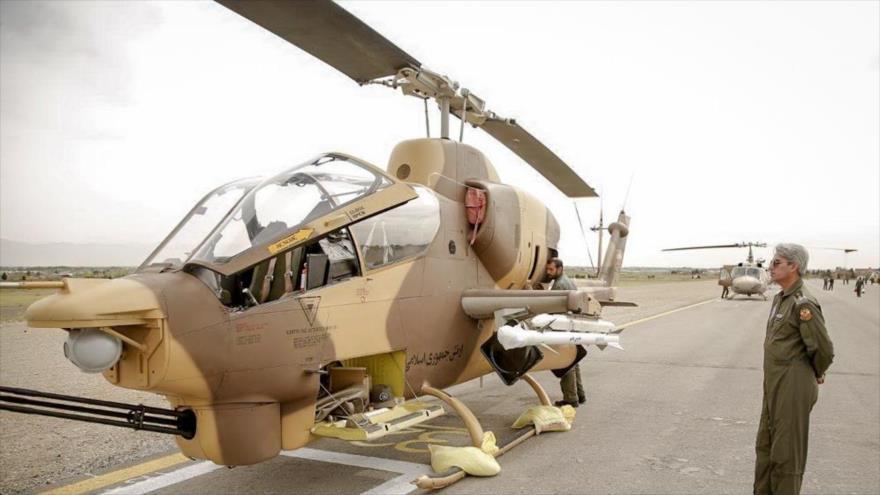 Irán produce tres nuevos misiles para helicópteros de ataque