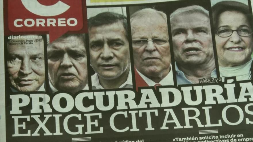 Investigaciones sobre caso Odebrecht en Perú da nuevos frutos