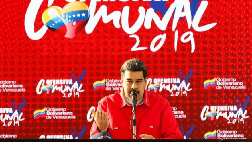 Maduro llama a defender Venezuela ante golpistas de oligarquía | HISPANTV