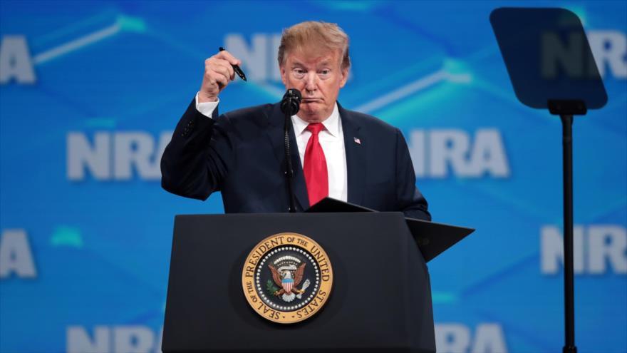Trump anuncia que retirará a EEUU del tratado sobre venta de armas | HISPANTV