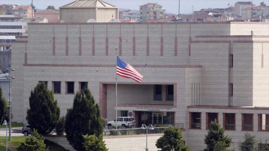 El consulado de EE.UU. en la ciudad turca de Estambul.