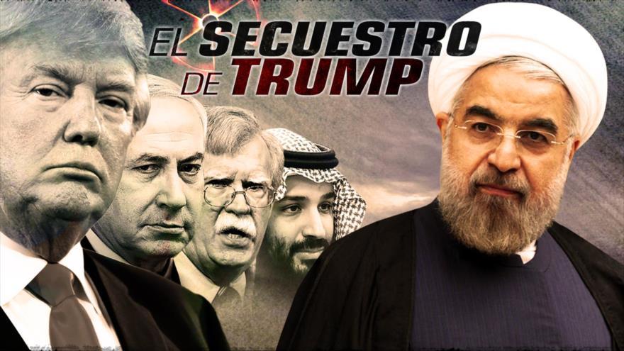 Detrás de la Razón: Nueva revelación; Trump no quiere atacar a Irán, lo manipulan para ir a la guerra