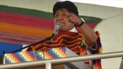 Morales: La derecha pide el retorno de DEA por la limosna de EEUU