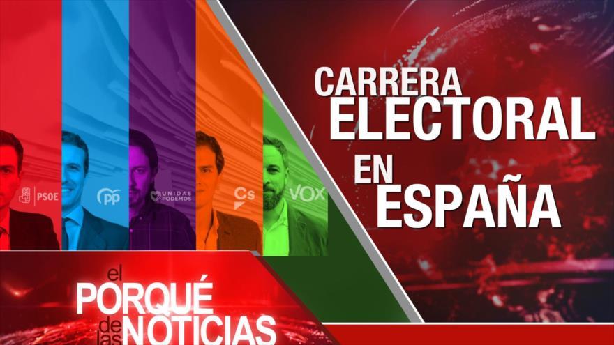 El Porqué de las Noticias: Elecciones en España. Tratado de Comercio de Armas. Ruta de la Seda