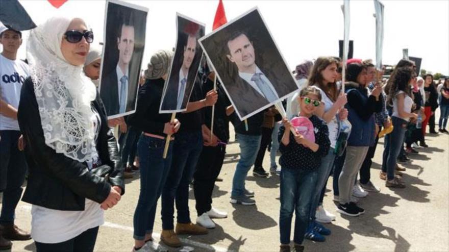 Sirios rechazan por enésima vez la decisión de Trump sobre Golán | HISPANTV