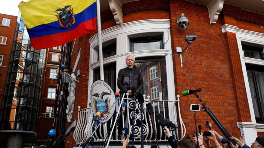 WikiLeaks denuncia extorsiones a Assange y espionaje de Ecuador   HISPANTV