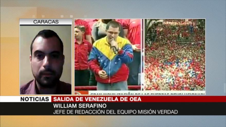 Serafino: Gobierno y pueblo de Venezuela ganan con salida de OEA
