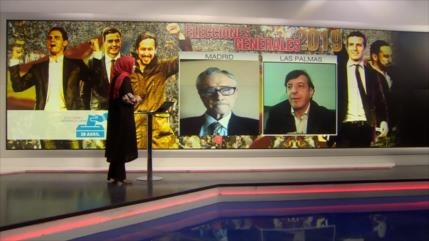 Programa especial de HispanTV sobre elecciones en España