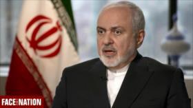 Zarif critica presiones y sanciones de EEUU contra el país persa