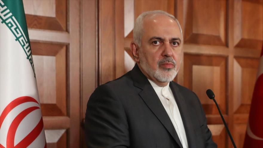 El ministro de Exteriores de Irán, Mohamad Yavad Zarif, en una visita a Turquía, 17 de abril de 2019.