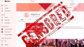 Lectores: Censura de HispanTV por Google muestra debilidad de EEUU
