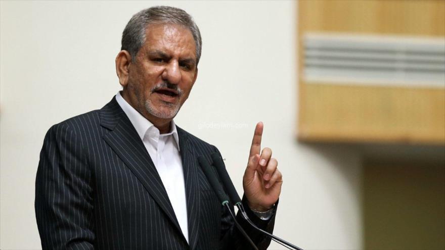 El vice presidente primero iraní, Eshaq Yahanguiri.