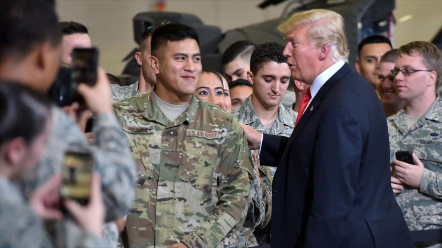 SIPRI: EEUU encabeza gastos militares por las políticas de Trump | HISPANTV