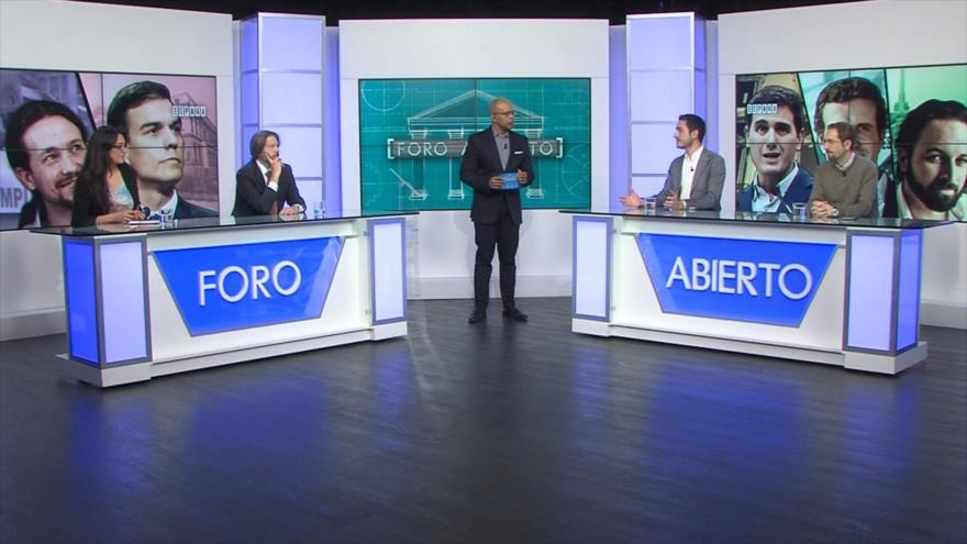 Foro Abierto: España; triunfo socialista y sus pactos de gobierno