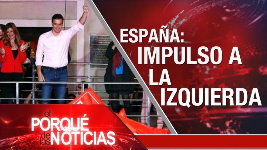 El Porqué de las Noticias: Nuevo gobierno español. Palestina critica a Europa. Pobreza en Argentina