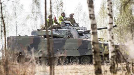 OTAN inicia ejercicios militares a gran escala en Estonia