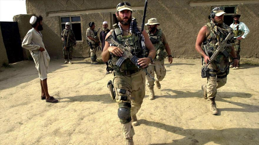 Mercenarios de la empresa militar estadounidense Blackwater en Irak.