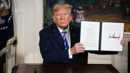 """Con más sanciones, Trump duplica su """"política fallida"""" ante Irán"""