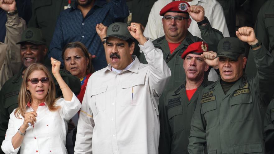 """¡Nervios de acero!"": Maduro asegura tener lealtad de militares | HISPANTV"