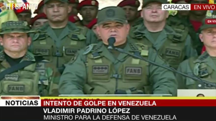 Padrino López: Este hecho de violencia ha sido derrotado | HISPANTV