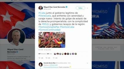 México, EEUU, España… reaccionan al intento de golpe en Venezuela