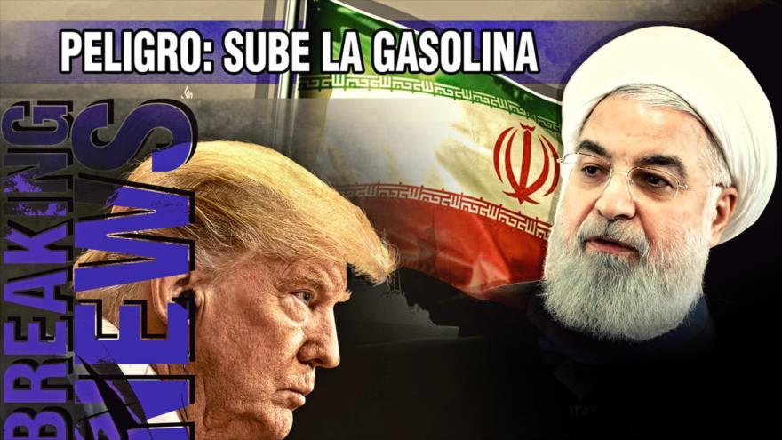 Detrás de la Razón: Alerta; sube la gasolina ¿quién ganará la guerra entre EEUU, Irán y Rusia?