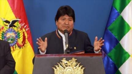 Morales: Ofensiva golpista de Trump contra Venezuela fracasó