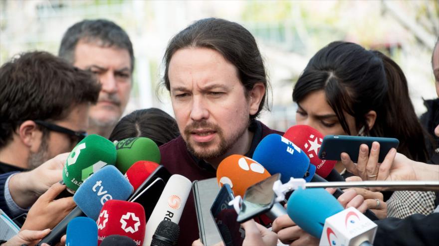 Podemos condiciona investidura de Sánchez a un pacto de coalición