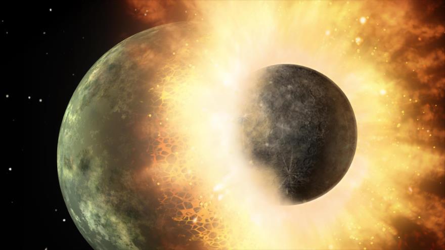 Un estudio revela que la Luna nació de una expulsión de magma de la Tierra.
