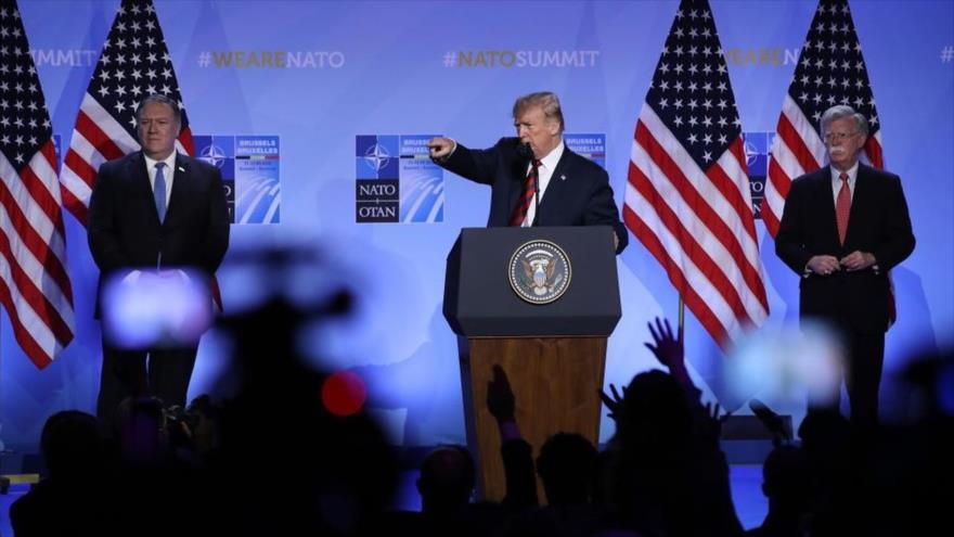 'Trump, Bolton y Pompeo son líderes de la oposición de Venezuela' | HISPANTV