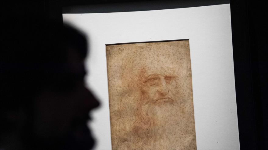 Revelan un segundo retrato de Da Vinci a 500 años de su muerte