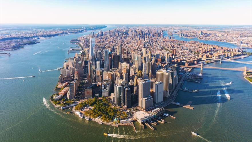 La ciudad estadounidense de Nueva York.