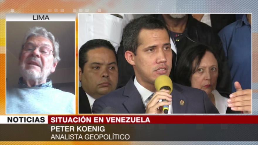 """""""Golpe de Estado de Venezuela se lidera directamente desde EEUU"""""""