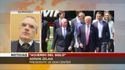 Zelaia: Trump busca preservar su presidencia con acuerdo del siglo