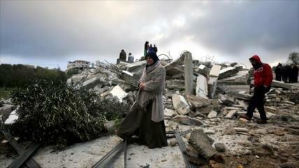 ONU llama a Israel a 'parar' demoliciones de casas palestinas
