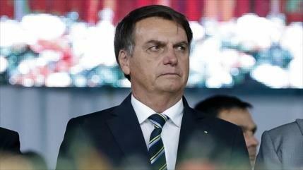 Tras amplias protestas, Bolsonaro cancela su viaje a Nueva York