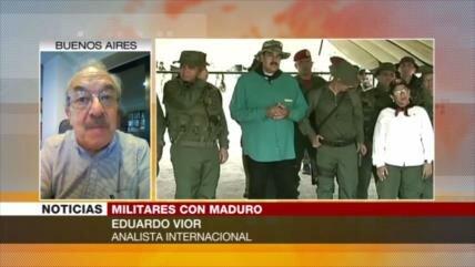 "Vior: Tras ""astuto engaño"" venezolano a EEUU, tiempo de diplomacia"