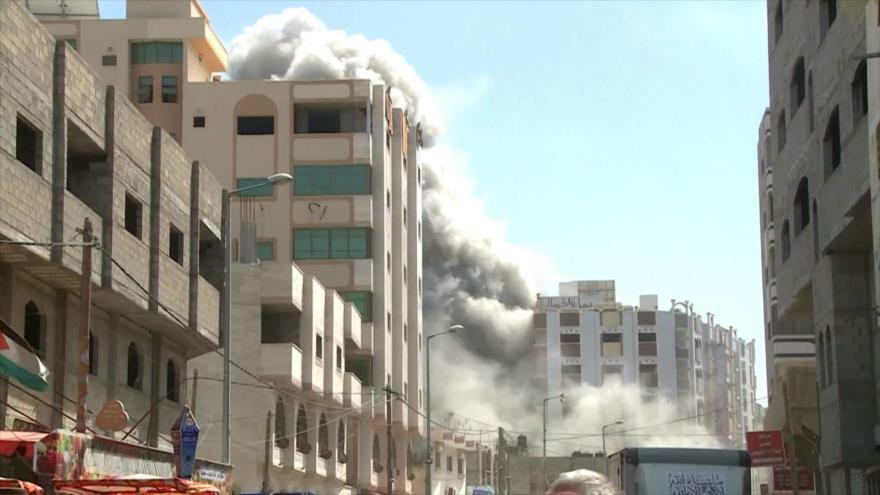 Continúan los ataques israelíes contra la Franja de Gaza | HISPANTV