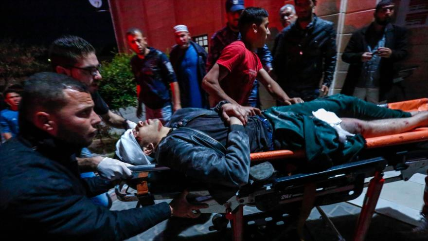 Bombardeos incesantes de Israel dejan 25 palestinos muertos