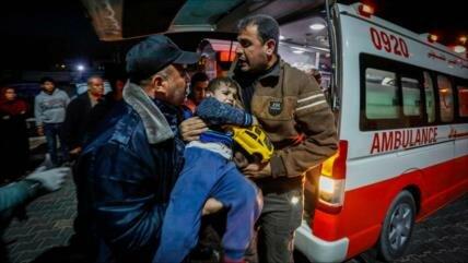 Hezbolá denuncia la barbarie de Israel contra el pueblo de Gaza