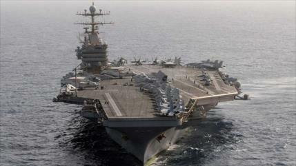 EEUU envía portaviones a Oriente Medio como advertencia a Irán