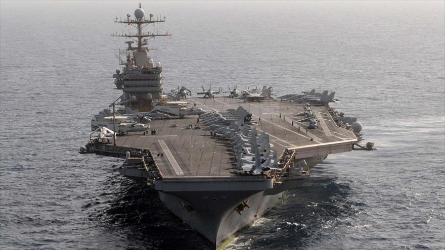 Portavión nuclear USS Abraham Lincoln.