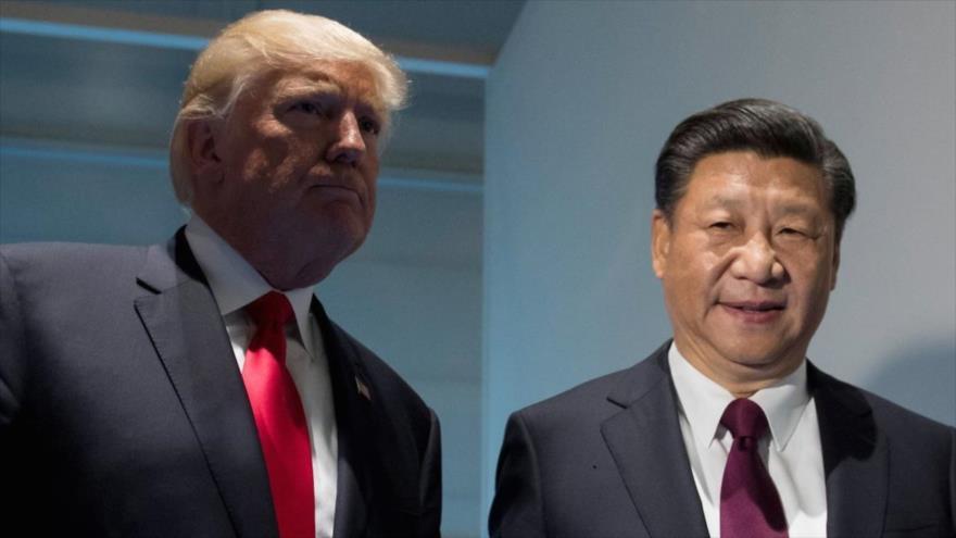El presidente de EE.UU., Donald Trump (izq.), y su homólogo chino, Xi Jinping.