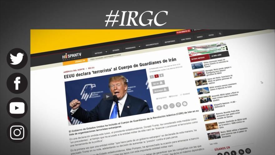 Etiquetaje: Trump arremete contra Guardianes iraníes