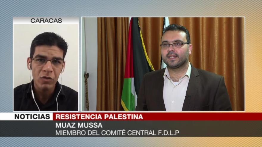 Mussa: Misiles palestinos enviaron 'fuerte mensaje' a Israel