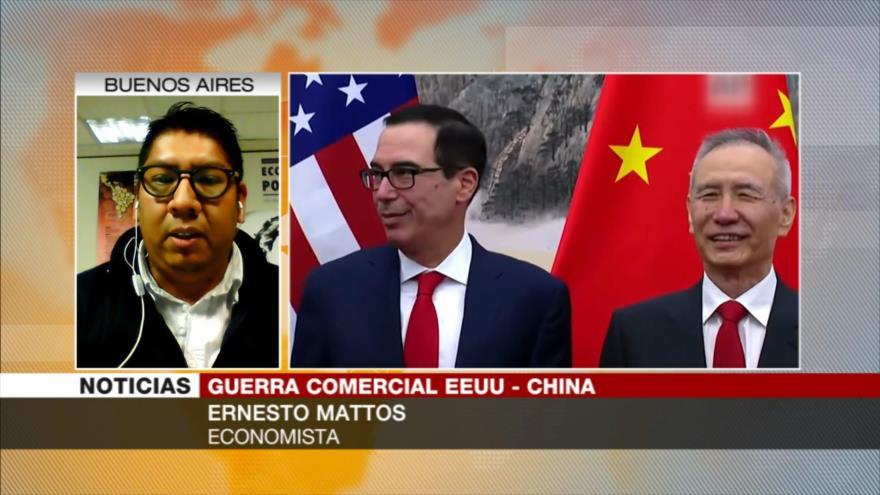 Mattos: Los nuevos aranceles de EEUU a China tendrán represalias