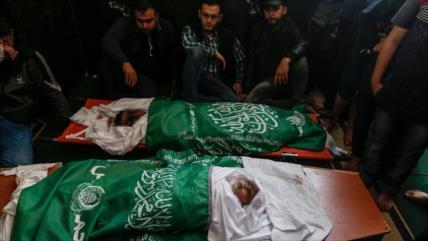 Irán denuncia complicidad de EEUU en matanza de palestinos en Gaza