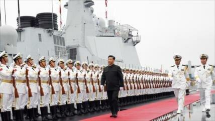 """Ejército chino en """"alerta máxima"""" por despliegue militar de EEUU"""