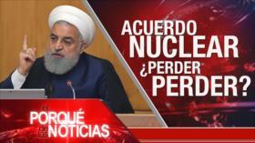 El Porqué de las Noticias: Irán revela contramedidas. Reacciones a decisión de Irán